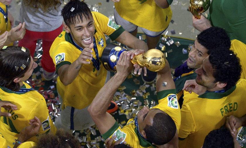 Brazylia, Hiszpania, Puchar konfederacji