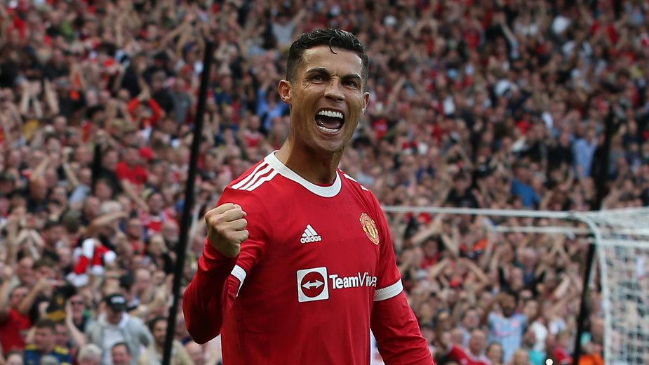 Cristiano Ronaldo po golu