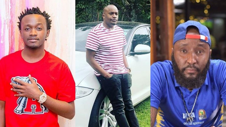 Bahati, jaguar and Shaffie Weru. List of Kenyan celebrities with multiple Baby Mama's