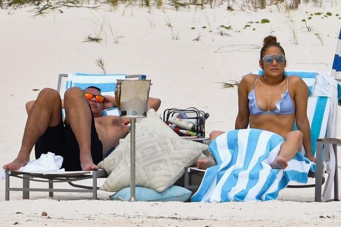 Dženifer Lopez i Aleks Rodrigez na Bahamima