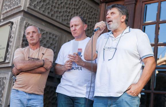 Lideri taksi protesta