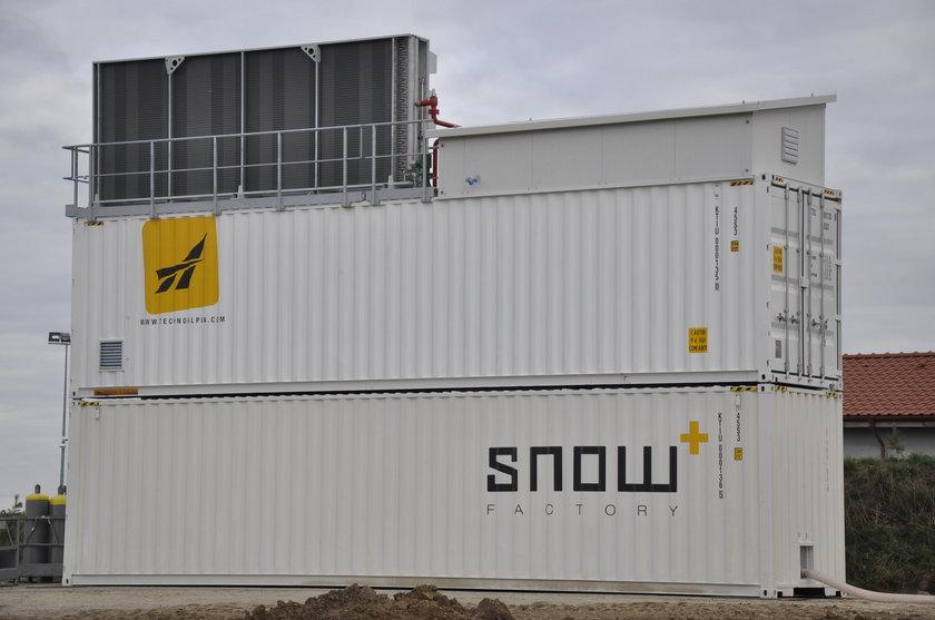 Produkcja śniegu