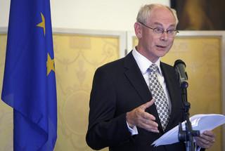 Van Rompuy: Unijna obrona ma wspomagać NATO [WYWIAD]