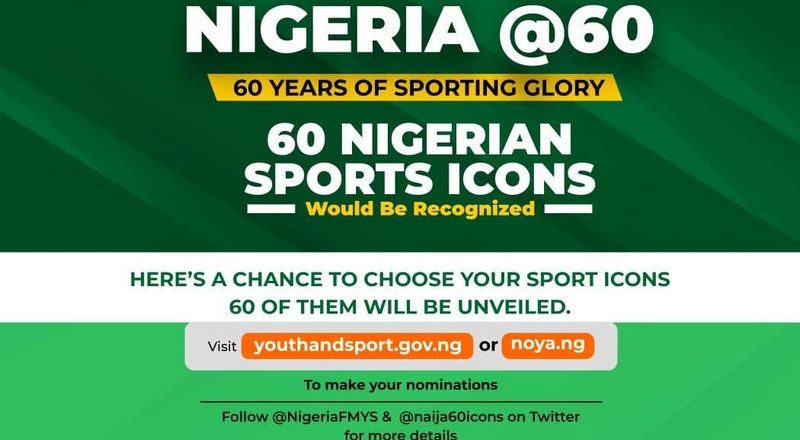 FG set to recognise 60 sports ICONS