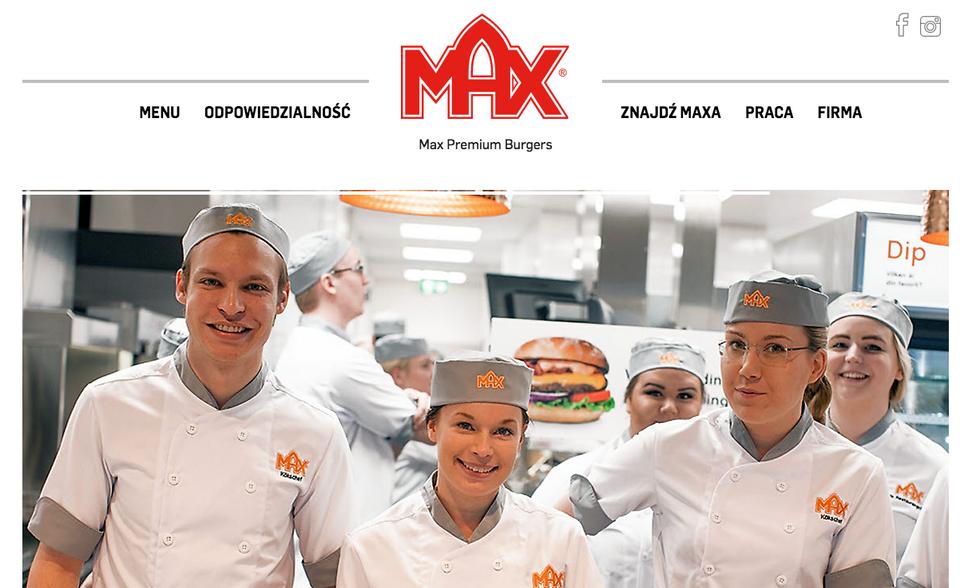Max Premium Burgers – szwedzki fast-food już w Polsce