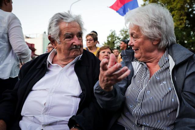 Hose Muhika supruga Lučija Topolanski