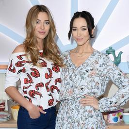 """""""Bake Off - Ale ciacho!"""": Marcelina Zawadzka i Dorota Czaja nowymi prowadzącymi. Która wyglądała lepiej na planie programu?"""