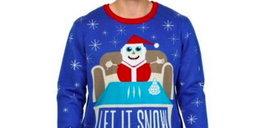 Świąteczny sweter zbulwersował klientów. Widzisz już dlaczego?