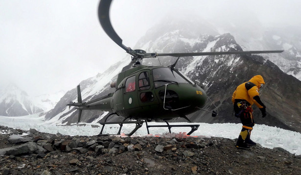 Akcja ratunkowa pod Nanga Parbat
