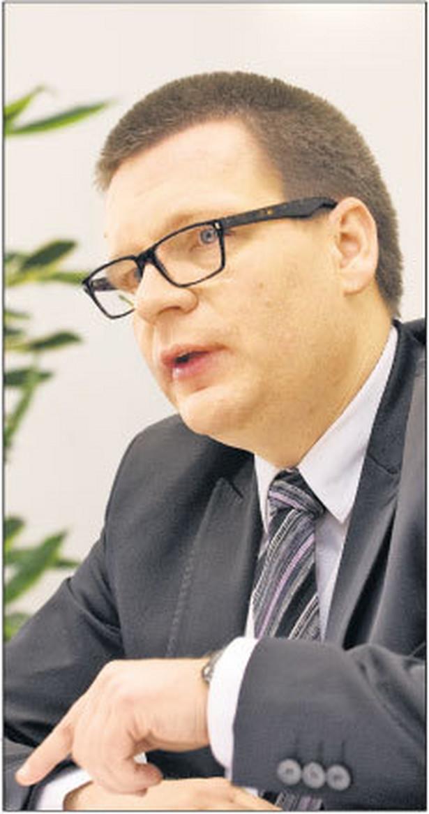 Dariusz Śpiewak, wiceprezes ZUS, odpowiada m.in. za informatyzację zakładu Fot. Wojciech Górski