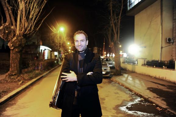 Stigao kući: Stefan prošlog petka na Voždovcu