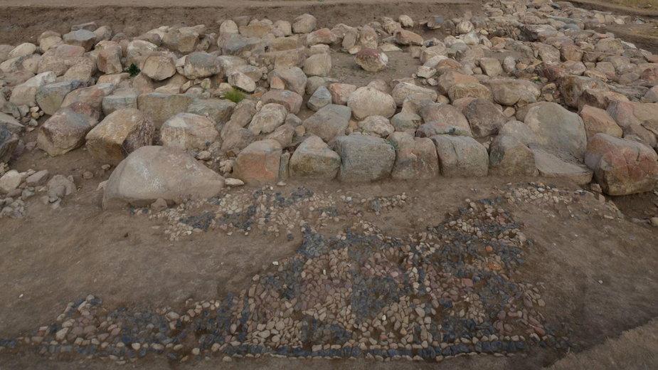 Mozaika z ruin hetyckiej świątyni