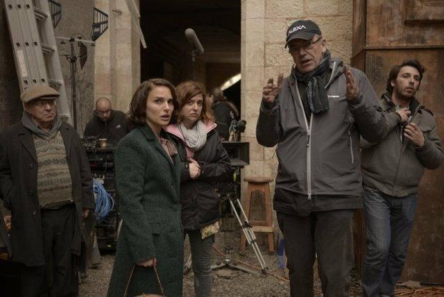 Natalie Portman i Sławomir Idziak na planie debiutu reżyserskiego aktorki