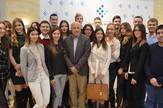 Prva generacija LSE u Srbiji sa dekanom Boričićem