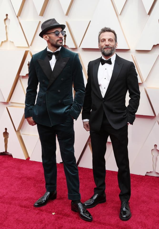 JR i Mathieu Kassovitz