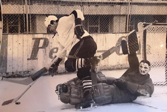 Rašid Šemsedinović u vremenu dok se bavio hokejom
