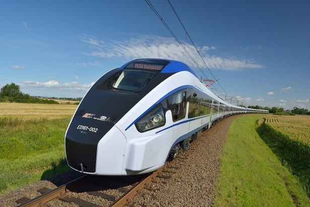 Pociąg Dart. 20 takich składów zamówiło w Pesie PKP Intercity.