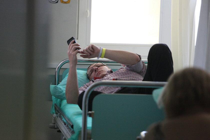 Kurski w szpitalu