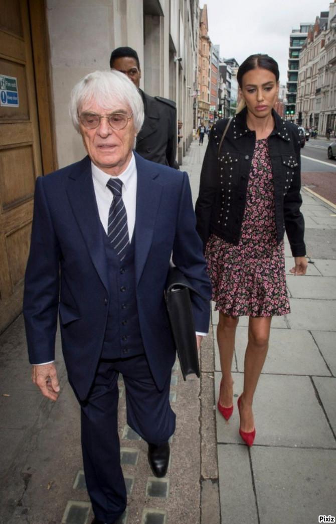 Berni i Petra ispred suda u Londonu