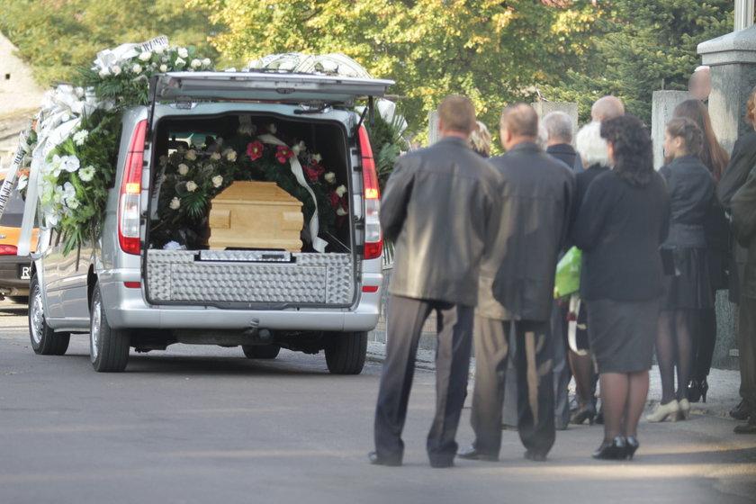 Pogrzeb ofiary Szwajcara