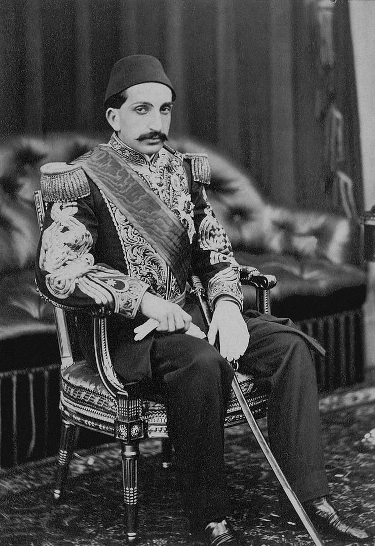 Abdul Hamid II 01 foto Wikipedia Library of Congress
