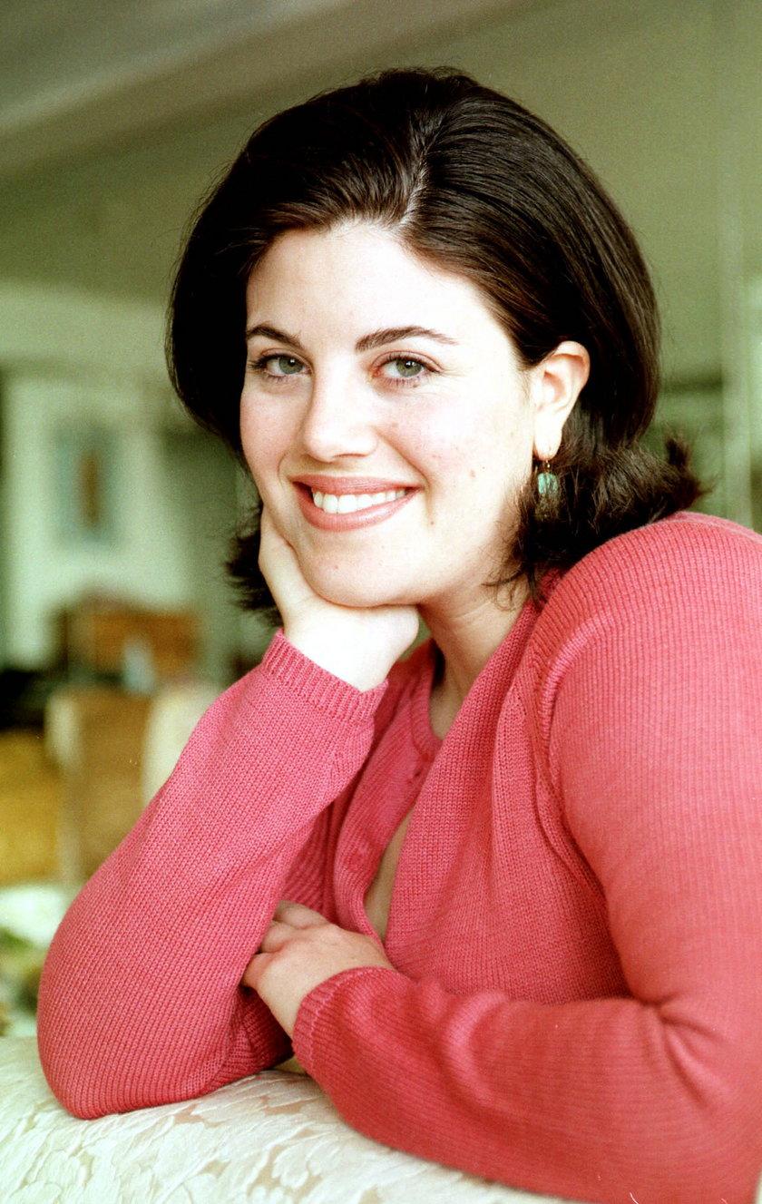 Monica Lewinsky w domu