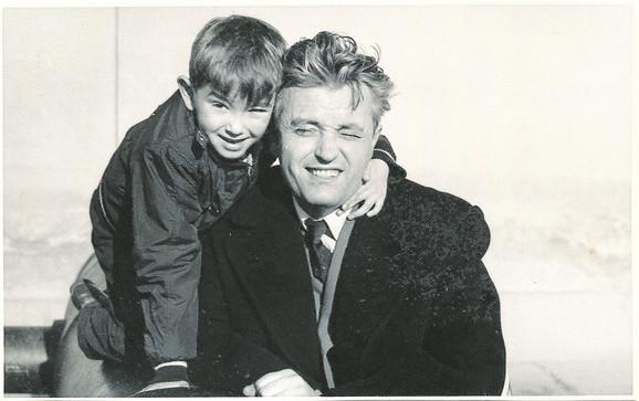 Otac i sin: Darko i Miloš Bajić