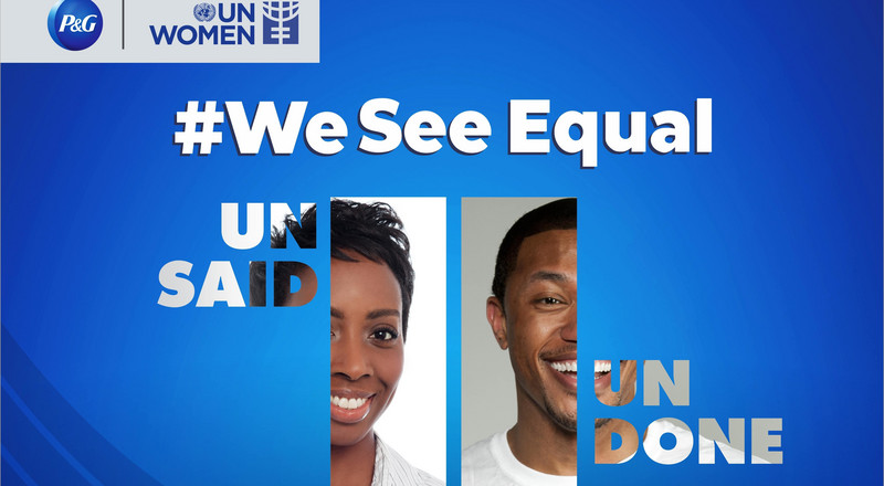 Join P&G Nigeria and UN Women at the upcoming #WeSeeEqual Summit on March 5, 2021 to promote gender equality and diversity