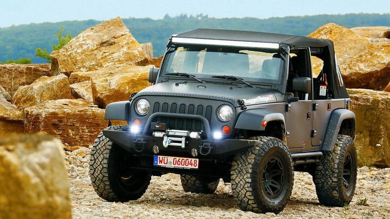 Jeep Wrangler, modyfikacje