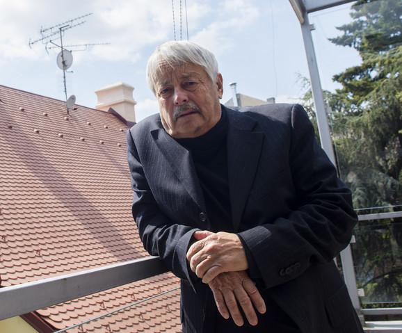 Slobodan Šnajder je bio gost Prozafesta u Novom Sadu