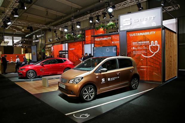 Koncepcyjne modele Seata pokazano podczas targów Smart City Expo w Barcelonie