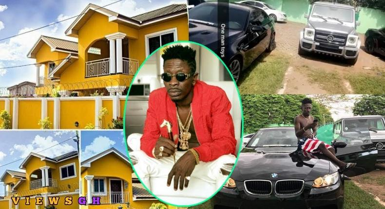Shatta Wale: The extravagant lifestyle of one of Ghana's rich musicians