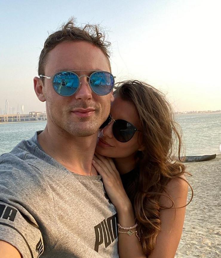 Nemanja Matić i supruga Aleksandra