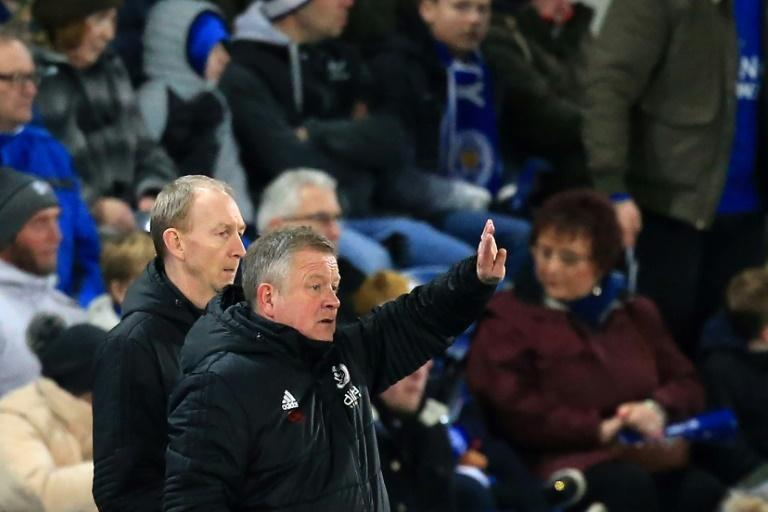 Sheffield United coach Chris Wilder