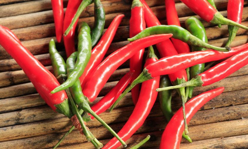 34-letni zawodnik zjadł papryczkę chili trafił do szpitala