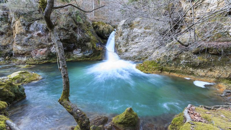 Rezerwat Urederra w Hiszpanii