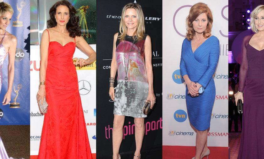 Sharon Stone, Andie MacDowell, Michelle Pfeiffer, Ewa Skibińska, Agata Młynarska