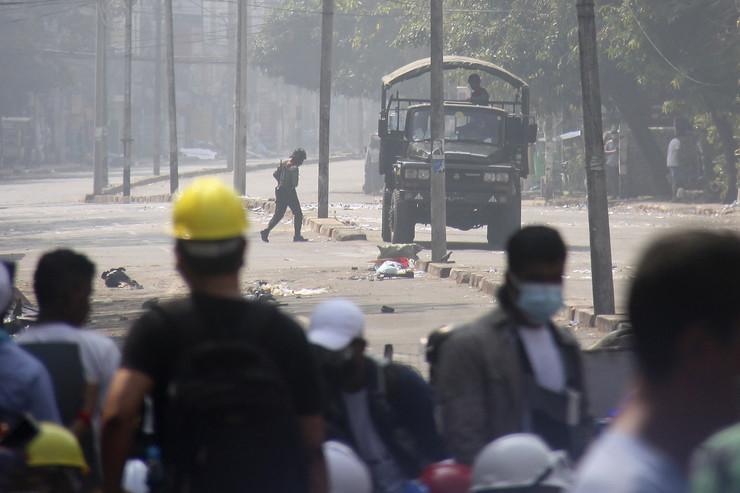 Protest u Mjanmaru