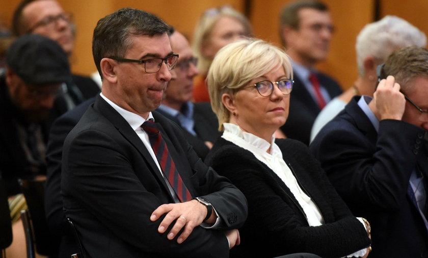 Julia i Andrzej Przyłębscy