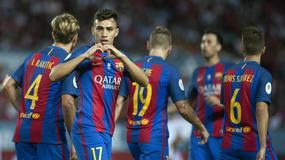 Barca z Sevillą wygrała, ale straciła Iniestę i Mathieu