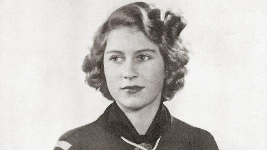 Elżbieta II w czasach młodości