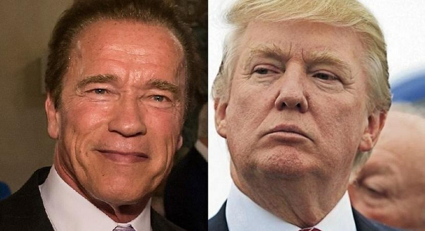 Arnold Schwarzenegger replaces Donald Trump on 'Celebrity Apprentice'
