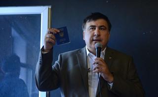 Saakaszwili: Putin ugania się za mną po całym świecie