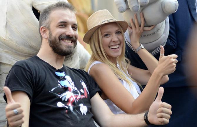 Milica Todorović i Miloš Paunović
