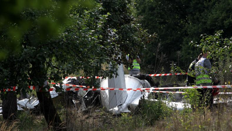 Straż Pożarna potwierdza, że w wypadku lotniczym pod Częstochową zginęło 11 osób