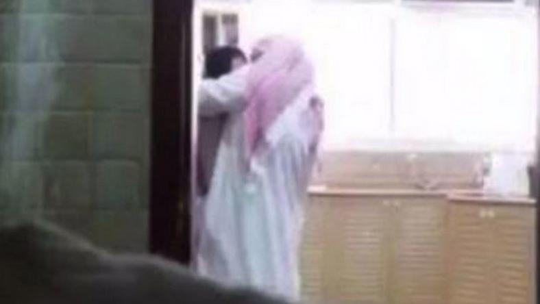 Man caught cheating with family maid on camera
