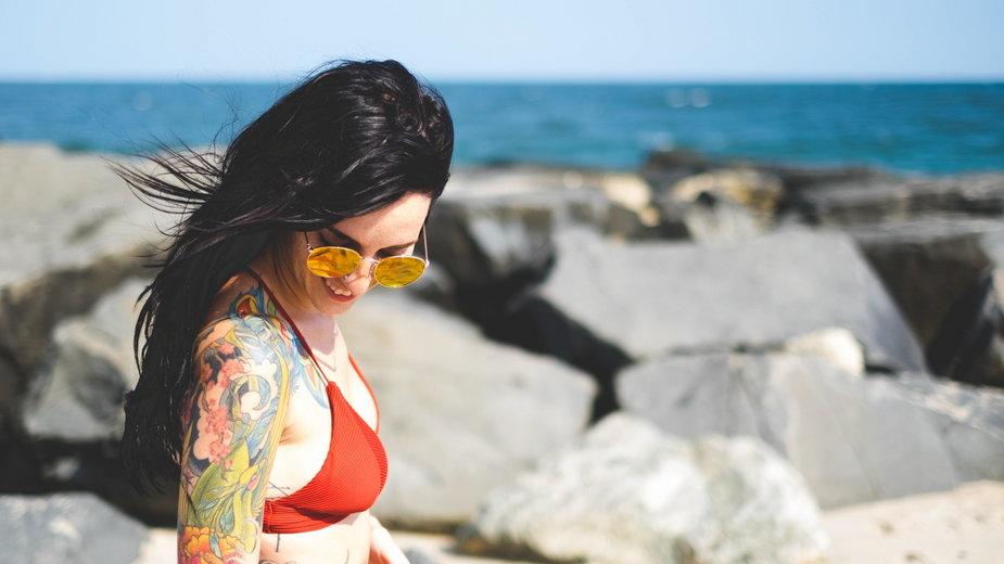 Tatuaż a słońce