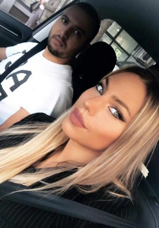 Ksenija Knežević sa dečkom