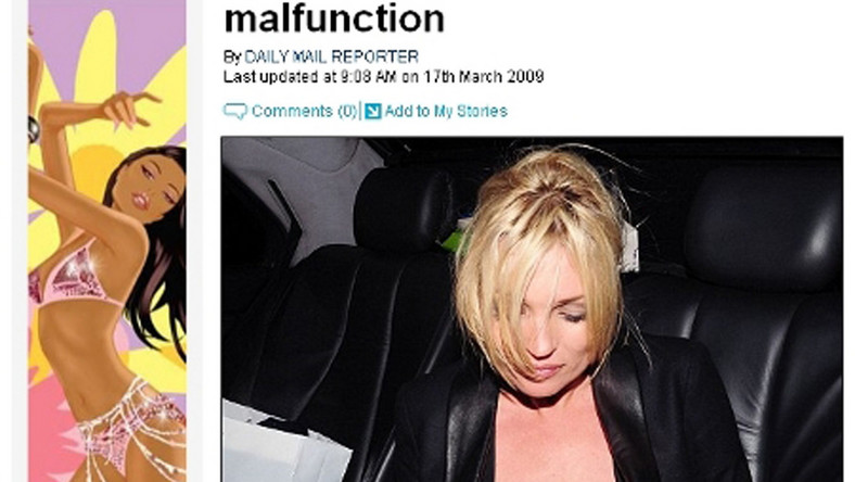 Obwisły problem Kate Moss