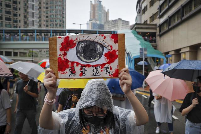 Hong Kong, protesti